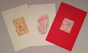 3 Watercolor Flowers Image